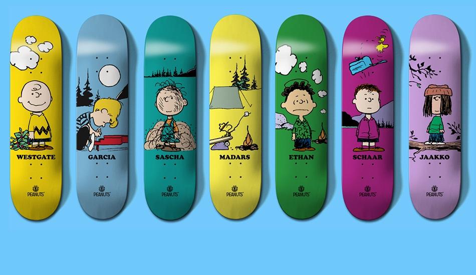 Peanuts x Element Collaboration Decks